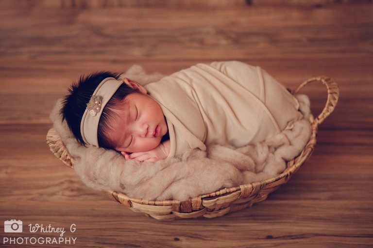 Boston Newborn Photographer - Cutest Baby Girl