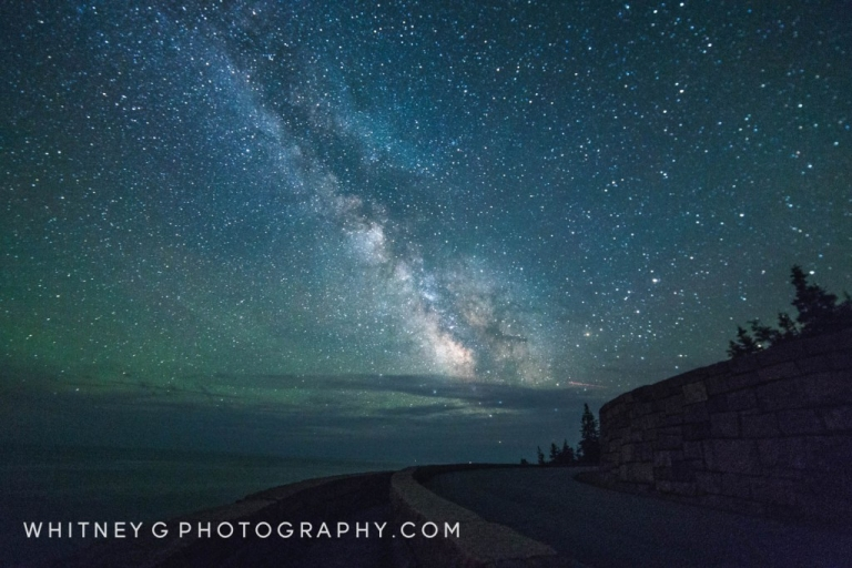 Milkyway over Otter Point, Acadia ME