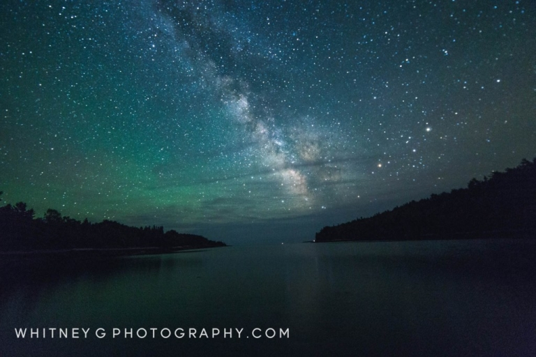 Milkyway over Otter Cove, Acadia ME