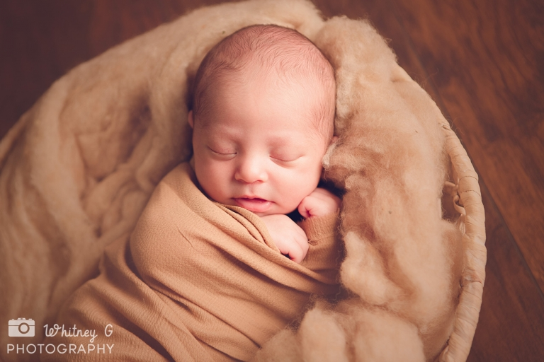 Boston Newborn Photographer - Cute Newborn Boy Photos